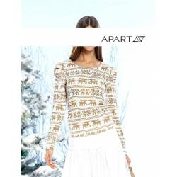 APART jersey blouse in Norwegian style