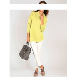 Classic ladies' yellow golf with pockets from the ASHLEY BROOKE collection