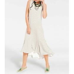 Heine sleeveless dress with frill
