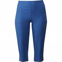 Womens trousers Plus size Pont Neuf Chris- blue, front